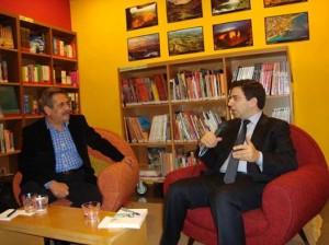 rencontre avec Alexandre Najjar a Monot