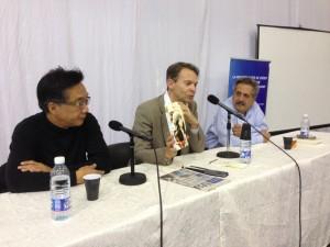 Beyrouth Salon du livre débat Do Khiem - Antoine Boulad[1]