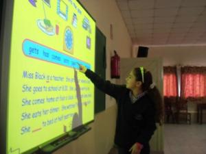 Tableau interactif - cours de sciences